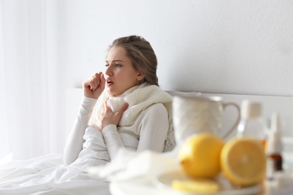 Лекарства от сухого кашля у взрослых